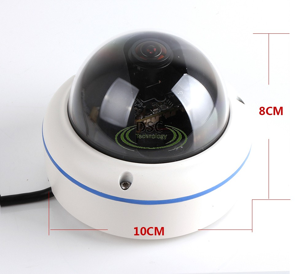 hd tvi fisheye panoramic cctv vandal camera 360 degree. Black Bedroom Furniture Sets. Home Design Ideas