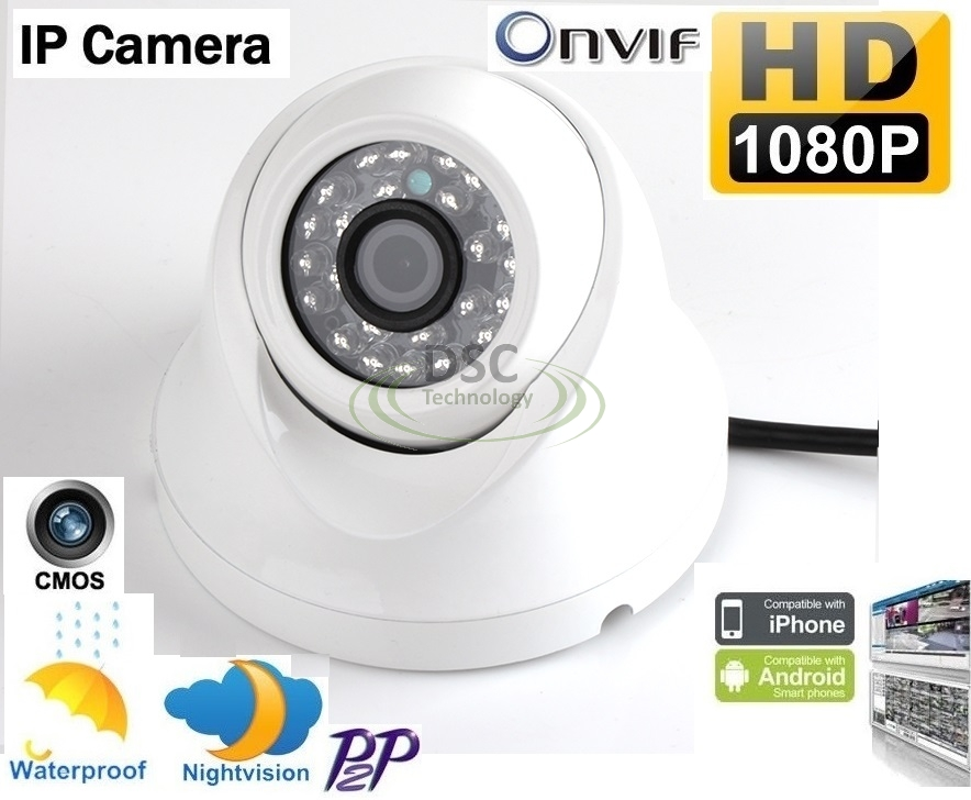 onvif 1080p hd 2 0mp mini dome ip camera outdoor support nas synology blue iris ebay. Black Bedroom Furniture Sets. Home Design Ideas