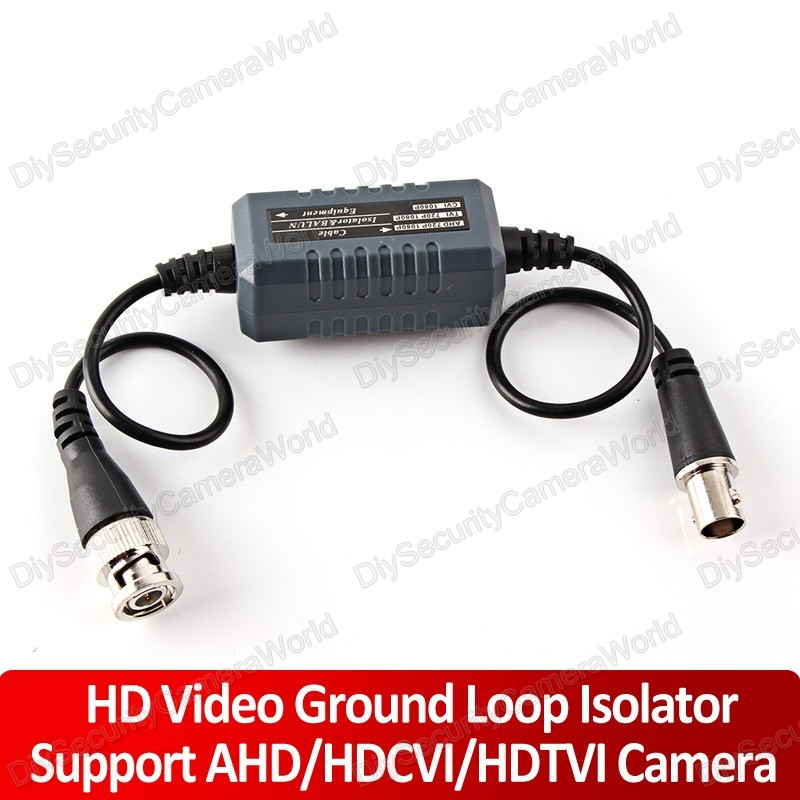 cctv video ground loop isolator coaxial cable bnc ebay. Black Bedroom Furniture Sets. Home Design Ideas