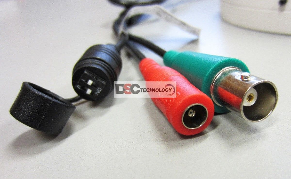 DSC-8040W CMOS+CCD 800TVL day CCTV indoor//outdoor dome Camera
