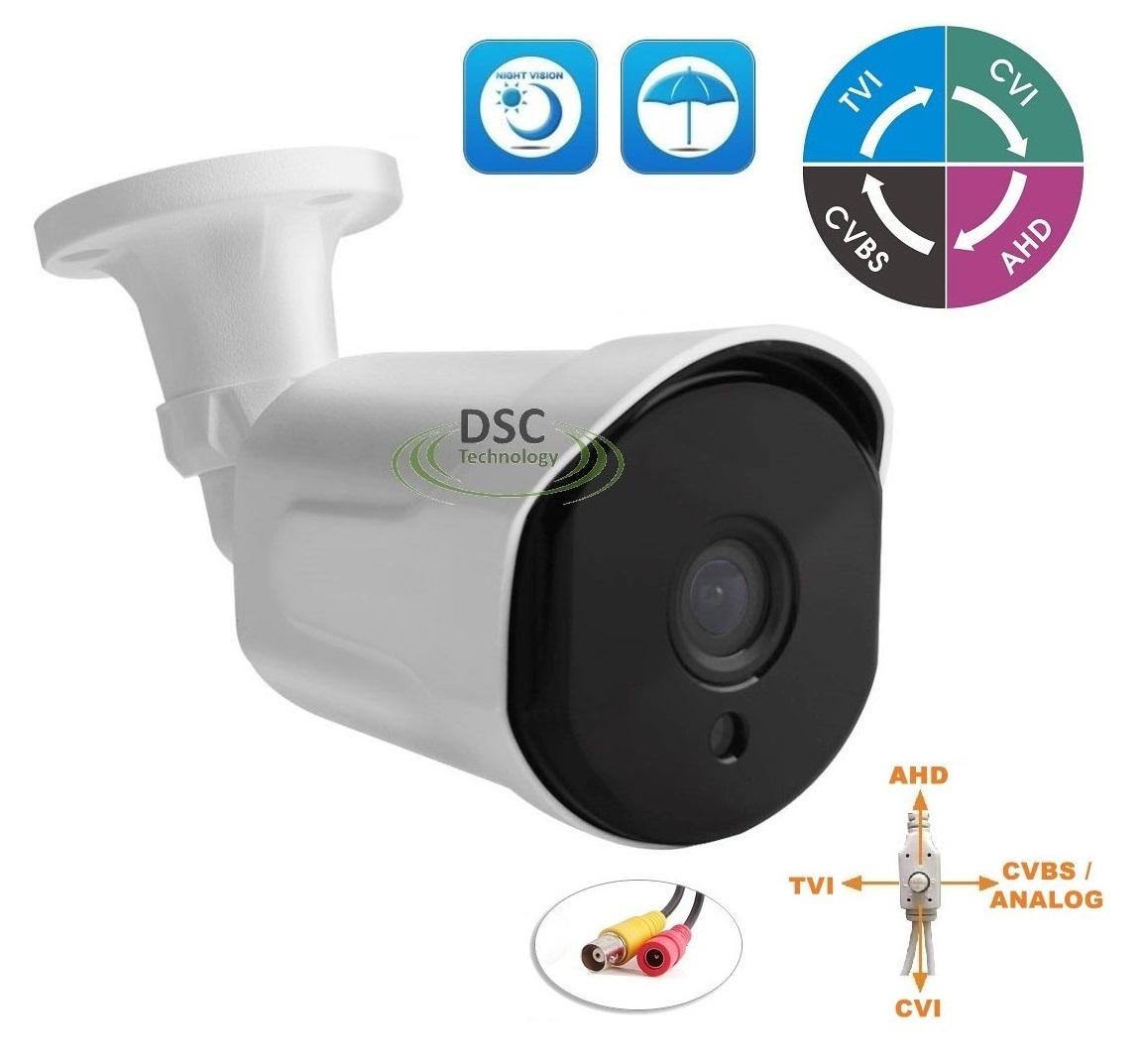 HD-CVI 1080p HD 2.4MP Fisheye 360 Camera IR Infrared Night Vision Outdoor Indoor