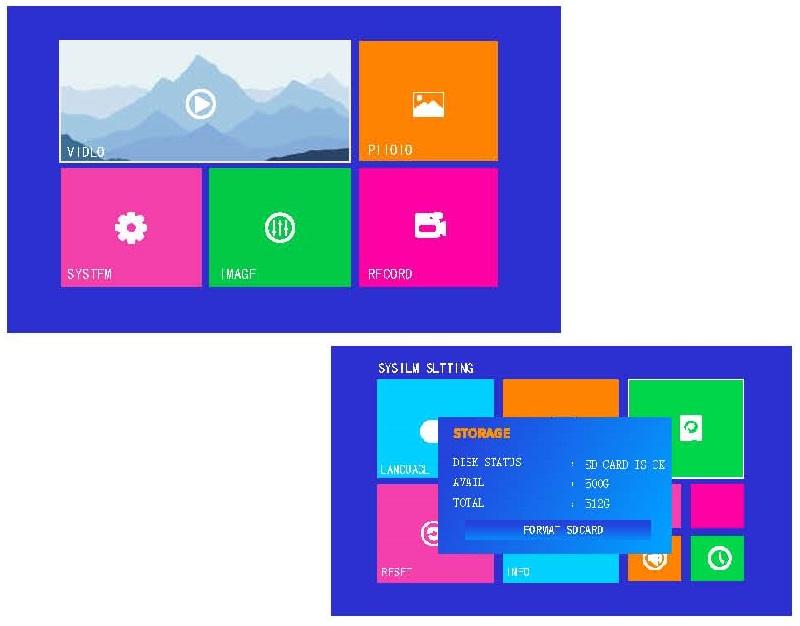 DVR 4 PORT AV DIGITAL MOTION DETECTION RECORD+TIME DATE